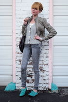 H&M jacket - Forever 21 jeans - Urban Outfitters shoes