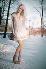 Kristines-collection-dress-coral-lindex-necklace
