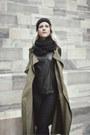 Black-vagabond-boots-dark-khaki-wholesalebuying-coat