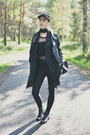 Black-faux-leather-missguided-jacket-black-h-m-pants
