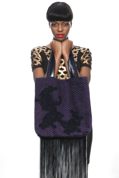 deep purple Kahri by KahriAnne Kerr bag