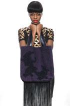 deep purple Kahri by KahriAnne Kerr bag