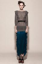 Silk Maxi Skirt Kahri By KahriAnne Kerr Skirts