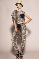 You Have Been Loved Pants- Silk Leopard Pants