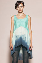 Some People Have Real Problems Top- Silk Dip Dye Tank
