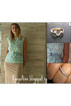 lace Sheinsidecom blouse