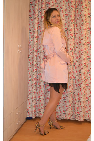 Tidestore shoes - 6ks dress - light pink OASAP coat