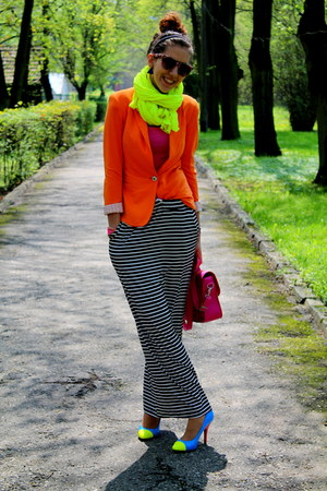 Zara jacket - SIX sunglasses - Sinsay skirt