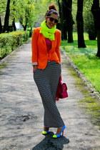 Zara jacket - SIX sunglasses - Sinsay skirt