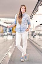 c&a shirt - Mtng shoes - H&M jeans - APreciouZ necklace