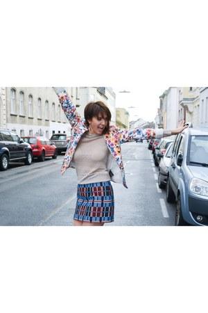 blazer - Zara skirt