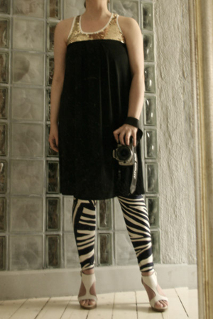 black tube dress Filippa K dress - white Sixtyseven shoes