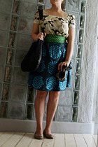 H&M top - brandless from  a supermarket accessories - Marimekko skirt - French S