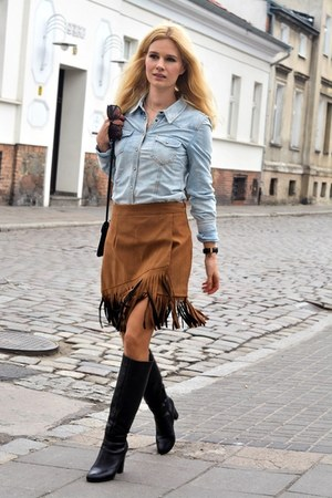 Sheinside skirt - reserved shirt