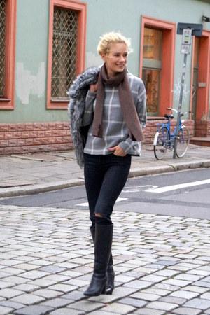 StyleMoi jacket - Stradivarius sweatshirt