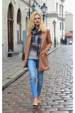 Sheinside coat - Alcott scarf