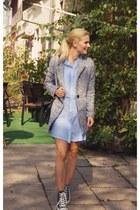 Sheinside coat - H&M shirt