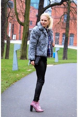 style moi jacket - Alcott scarf - areyoufashioncom pants
