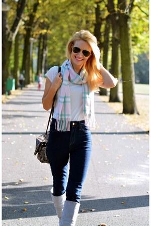 H&M jeans - TK Maxx scarf