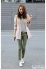 White-menswear-sweater-light-pink-silk-boyfriend-asos-blazer