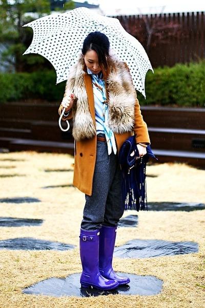 【真似したい!】海外サイトから学ぶ雨の日コーデ Naver まとめ