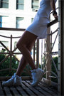 White-cutout-halter-topshop-dress-black-leather-hook-miansai-bracelet