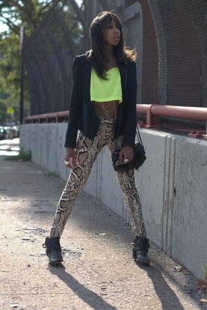 Zara All Saints H&M Alexander Wang jeans