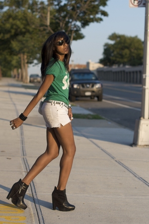 green sam edelman shorts