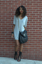 gray Alexander Wang Forever 21 Jeffrey Campbell dress