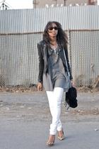 white alexander wang Zara Ray Ban ALDO jeans