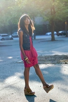 catherine malandrino levis nine west dress