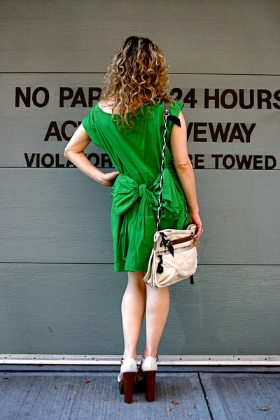 lanvin dress - lanvin necklace - lanvin purse - Chanel shoes - YSL sunglasses