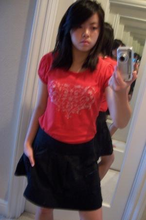 Guess top - American Rag skirt