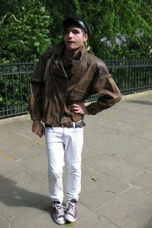 second hand jacket - Cheap Monday pants - Secondhand hat - accessories - Convers