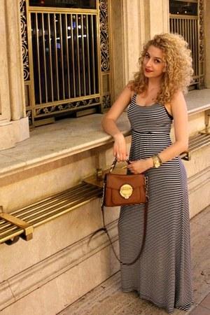calvin klein dress - Michael Kors bag - Michael Kors watch