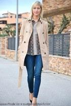 Zara blouse - Massimo Dutti jacket - Zara pants - Zara heels