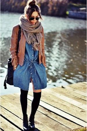 Pinko jacket - Gap dress
