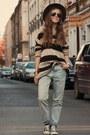 Stradivarius-sweater-zara-pants