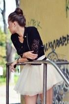 eggshell MINUSEY skirt
