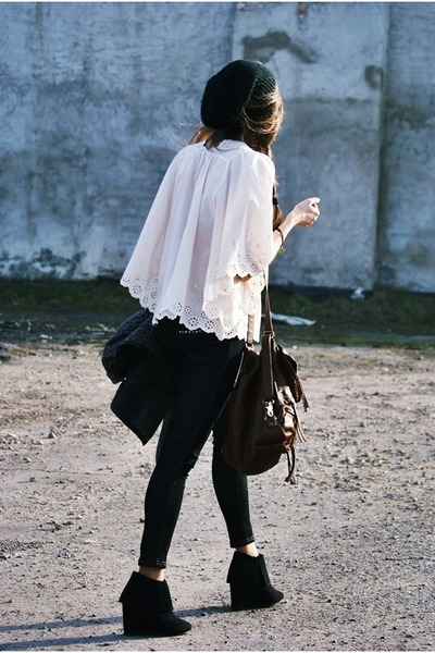 iwearsin blouse - monashe wedges