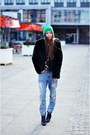 Secondhand-coat-zara-jeans-hauerpl-hat
