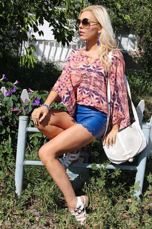 chiffon Le Tote blouse - faux leather Im Haute bag