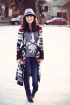 multi colored free people sweater - booties joe fresh style boots