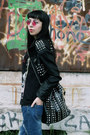 Ripped-tbdress-jeans-leather-studded-romwe-jacket-studded-tbdress-bag