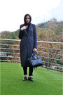 Charcoal-gray-zara-coat-black-fiorelli-bag-black-gerke-pants