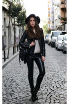 black leather jacket Boda Skins jacket