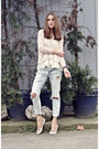 White-lace-top-sheinside-sweater