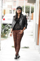 dark brown Mossimo blouse