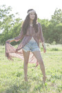 Forever-21-dress-billabong-shorts-charlotte-russe-heels