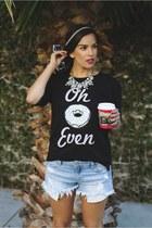 QTee sweater - Billabong shorts - similar Forever 21 sneakers